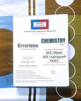 Chemistry book for neet , jee ( errorless )