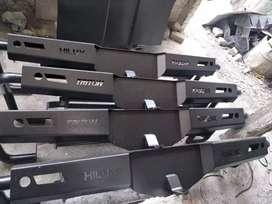Bumper/Bemper/Tanduk Belakang Pipa Samping Mobil/Hilu/Triton/Navara,DL