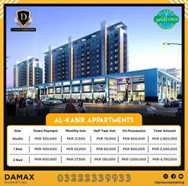 Al Kabir Town Phase 2 New Apartments Deal Main Raiwind Road TMA Approv