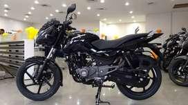 Bajaj Pulsar 125 brand new pay rupees 9999