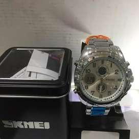 Skmei jam tangan pria analog/digital Waters resistan