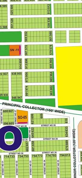 DhA multan sector O plot for sale very low prise