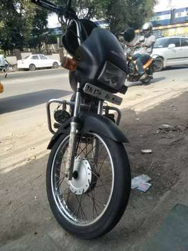 Good Condition.  Front tyre alone to be changed.  No other works