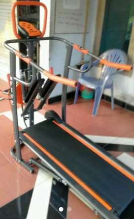 Dijual treadmil manual 7 fungsi
