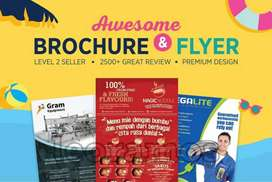 would you like to get a brochure, poster, banner etc!