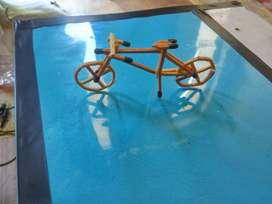 Miniature korek api bentuk sepeda