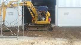 Excavator komatsu pc75-2