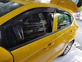 Window Visor Talang Air Honda All New Brio Lengkap Include Pasang