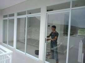 Desgint kusen aluminium kaca pintu jendela, 01#
