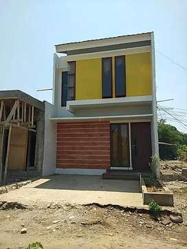 Rumah 2 lantai Jual Murah Harga 1 Lantai, Paling Dekat Jembatan Kembar