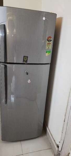 LG fridge spacious
