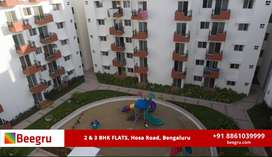 2 BHK and 3 BHK apartments FOR SALE  in Hosa Road, Bangalore