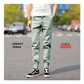 Legacy Jogger Pants - JOGGER INDONESIA - Simple Tosca