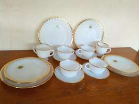Tea set Fire King/Anchor
