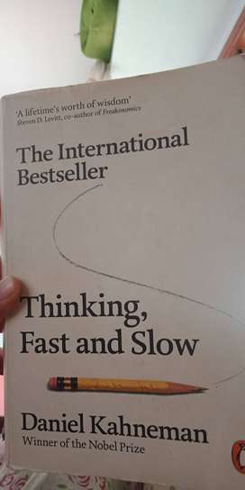 Thinking fast and slow by Daniel KahnemanBook