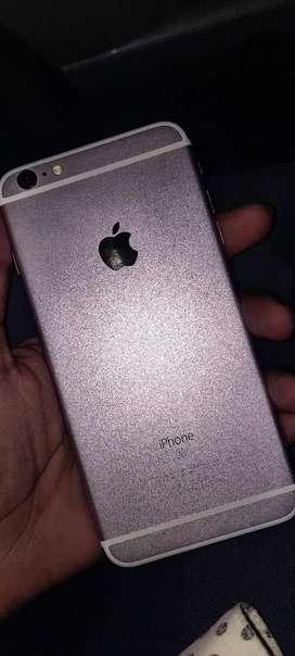 I phone 6s plus Rose Gold & 1 Cover