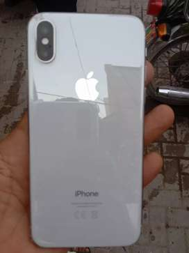 Iphone x white colour 256 pta approved