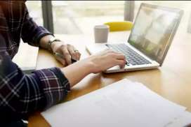 Need sialkot males females for simple & easy Online typing home jobs.