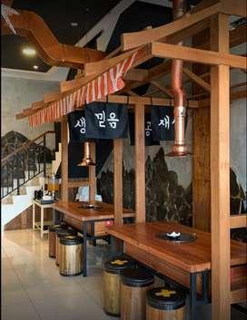 Dijual Restoran Korea Operasional