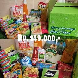 Paket lebaran sembako free dus lebaran