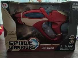 Mainan anak space warrior