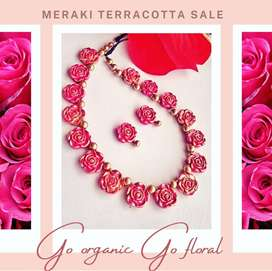 Terracotta Jewellery Sets FOR SALE !! [Meraki Terracotta]