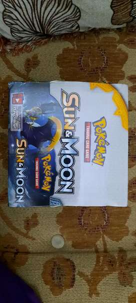 Pokemon cards booster box sun and moon