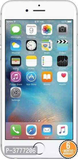 I phone 6S With 6 Months Warranty