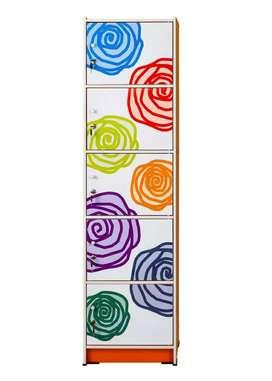Lemari Serba Guna 5 Pintu Activ Rose LSG 5 (Motif Cantik Menawan)