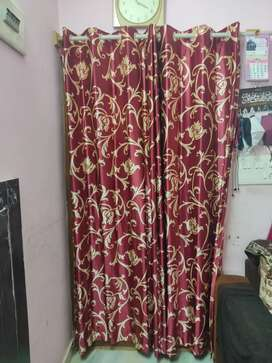 Curtains doors relocated
