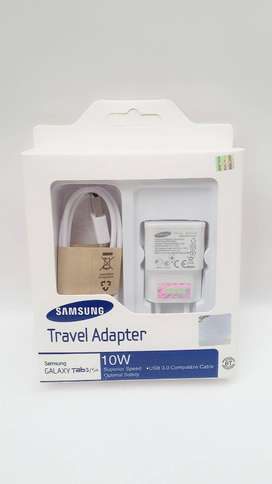 Charger Samsung Cas Casan Tab3 S4 10w output 2.0 ampere Putih 10 w