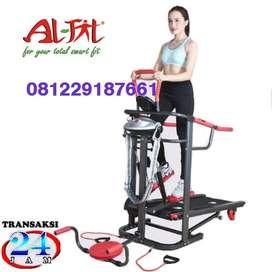 Alat Fitness TREADMIL TL004 Manual 6 fungsi -100% ORI