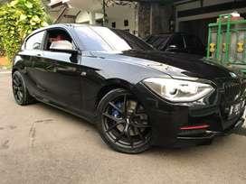 BMW 135i M Sport Coupe 2013 Warna Hitam Int Merah Full Original 100%