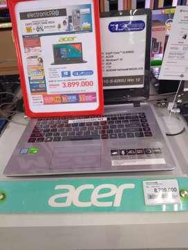 Kredit Laptop Acer Intel Core i58265u, Dp Hanya 10%, ProsesMudah&Cepat