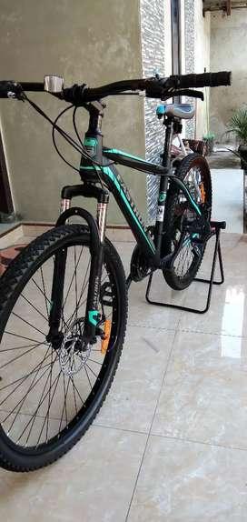 Jual sepeda Fastron f260, alloy persis baru