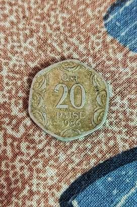 1986 20 Paisa