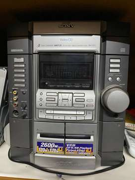 Sony music system and Philips DVD player