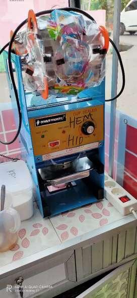 Dijual cup sealer / mesin press cup plastik