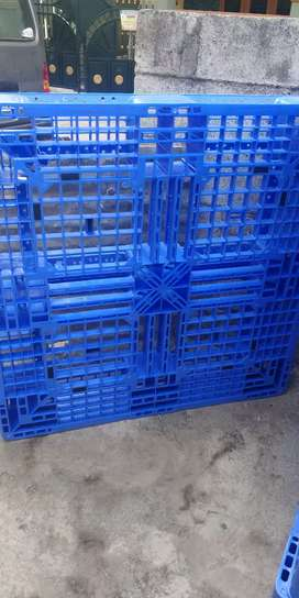 Brand new Imported Plastic Pallets 10 pieces