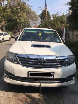 4X2 Manual 3.0 Super White Fortuner in showroom condition.