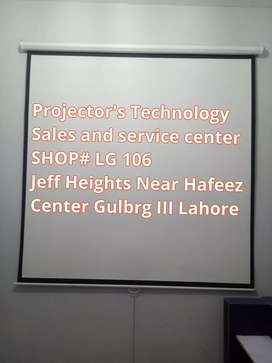 Tripod Projection Screens are available in Jeff Heights