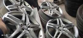 Four Genuine Alloy wheel OF MERCDESE 21' AMG