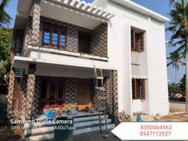 New House 7Cent Plot 2100Sqft 4Bhk Ayathil Ns Hospital