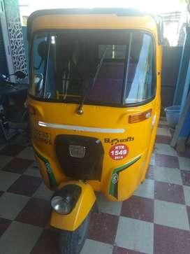 Bajaj compact auto for sale 2015 model Good condition