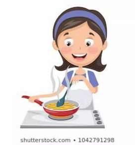 Female cook required