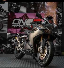 Honda CBR250RR non-ABS, Arrow Exhaust, KM under 5000, modified