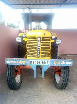 Hindustan 1995 model, 50 hp basically but modified to 80 hp