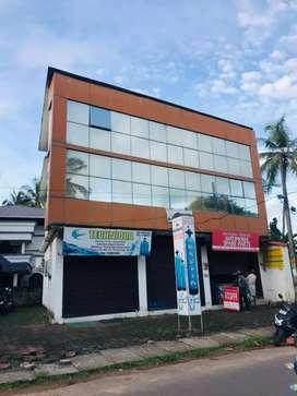 6cent  3700 sqft Rent 45000 (1st floor 2rooms balance)  250000 advance