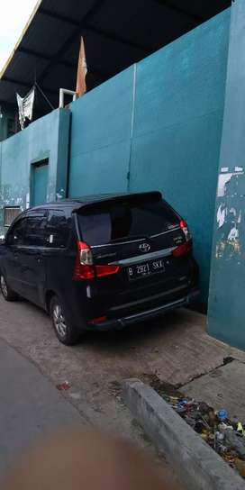 Dijual Toyota Avanza Hitam type G 2016 automatic
