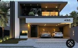 Villa and villa floor